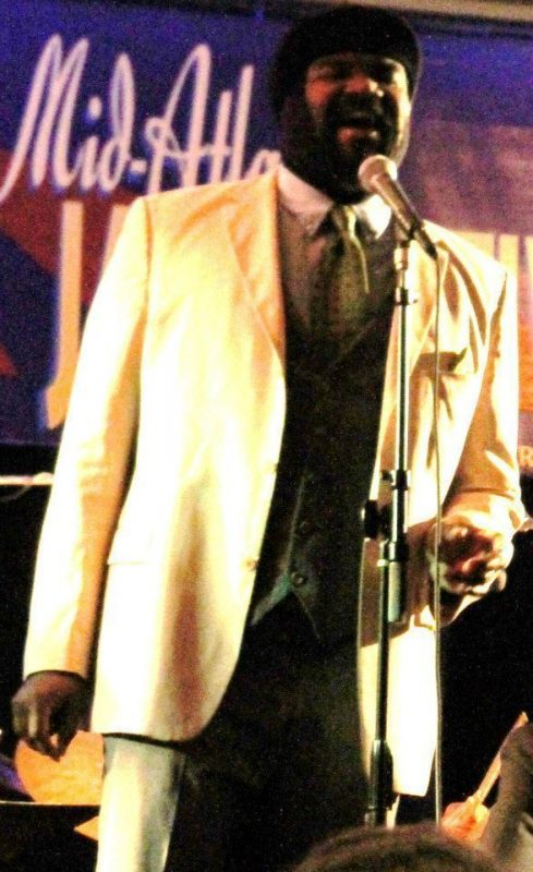 Gregory Porter in performance at the 2013 Mid Atlantic Jazz Festival in Rockville, Maryland