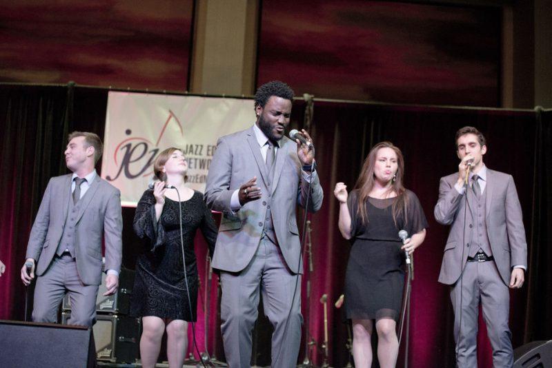 Cal State Univ. Long Beach Pacific Standard Time Vocal Jazz Ensemble, JEN Conference, Dallas 2014
