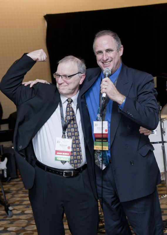 JEN president-elect Bob Sinicrope and current president Andrew Surmani, JEN Conference, Dallas 2014