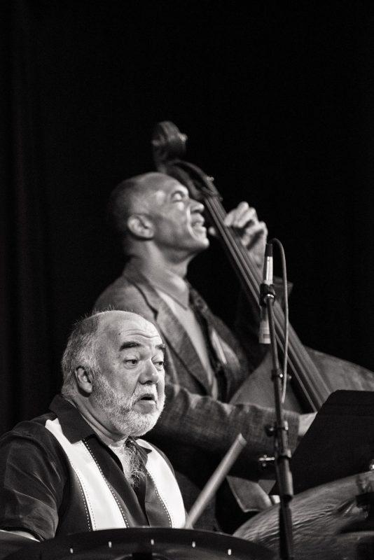 Peter Erskine and John Clayton, JEN Conference, Dallas 2014