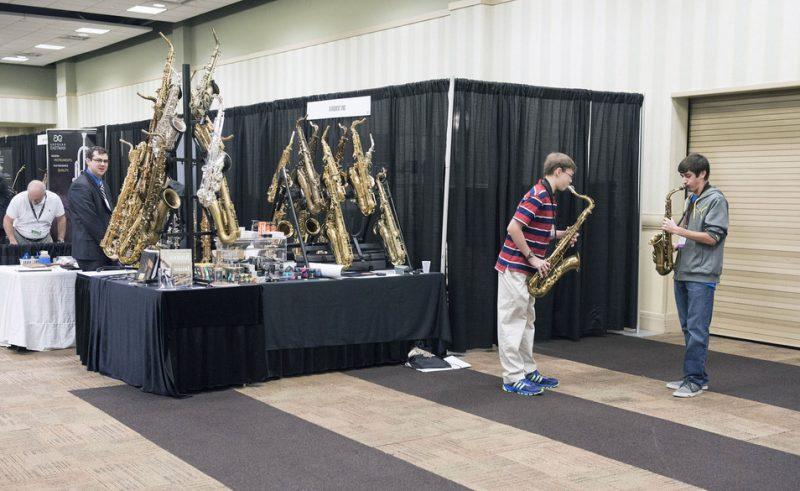 Exhibit area, JEN Conference, Dallas 2014