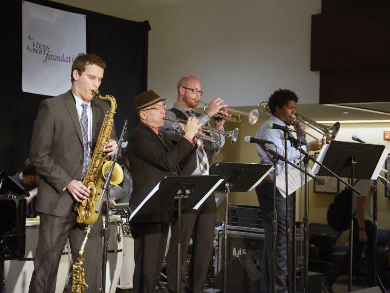 Brian Lynch w. the Frost School of Music (U. of Miami) Afro-Caribbean Jazz Ensemble, JEN Conference, Dallas 2014
