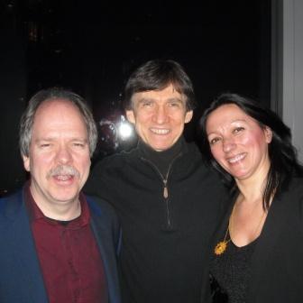 Bart Platteau, Russ Davis and Amina Figarova