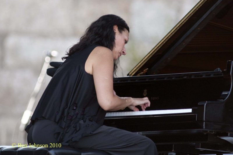 Amina Figarova at CareFusion Newport Jazz Festival