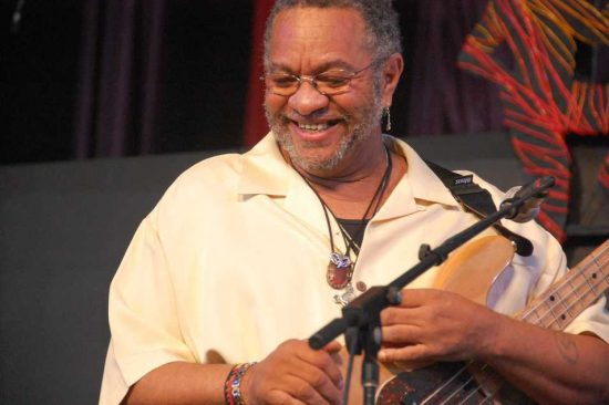 George Porter Jr. at New Orleans Jazz Fest 2013 image 0