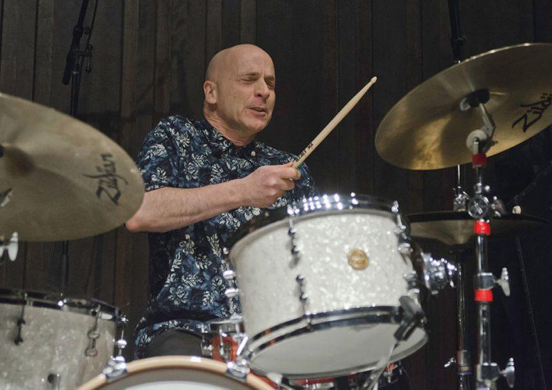 Joey Baron performs with the John Abercrombie Quartet, Ottawa JazzFest Winter Series, 2-14