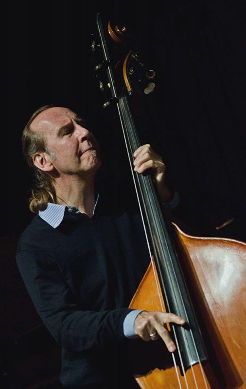 Drew Gress performs with the John Abercrombie Quartet, Ottawa JazzFest Winter Series, 2-14