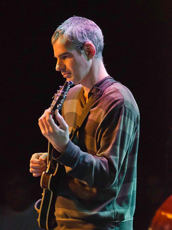 Ben Monder performs with the Jensen Sisters Band, Ottawa JazzFest Winter Series, 2-14