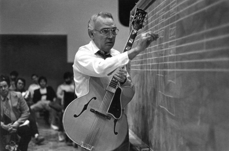 Johnny Smith teaching at University of Utah in 1981