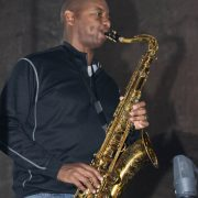 Branford Marsalis rehearsing for International Jazz Day performance, Hagia Irene, Istanbul, April 2013 image 0