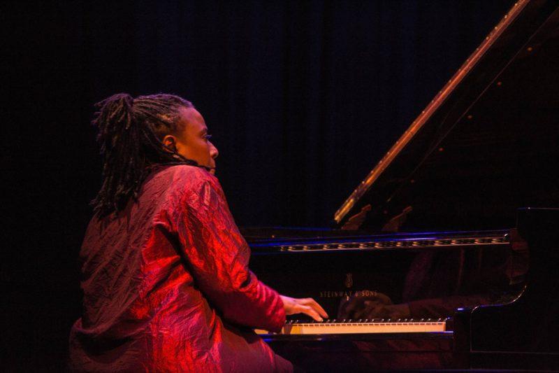 Geri Allen, Jazz For Obama concert, NYC, 9-12