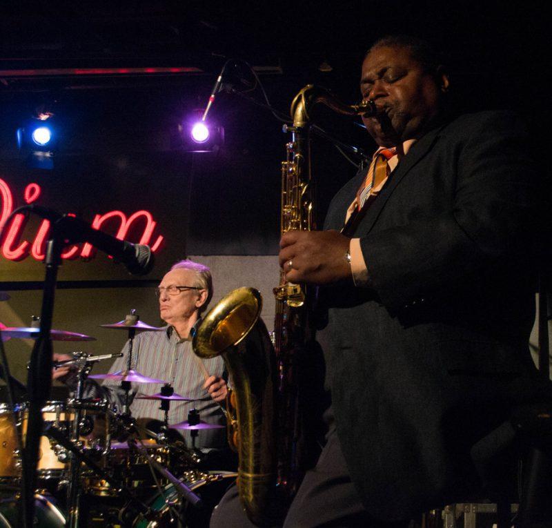 Ginger Baker and Pee Wee Ellis, Iridium, NYC 10-13