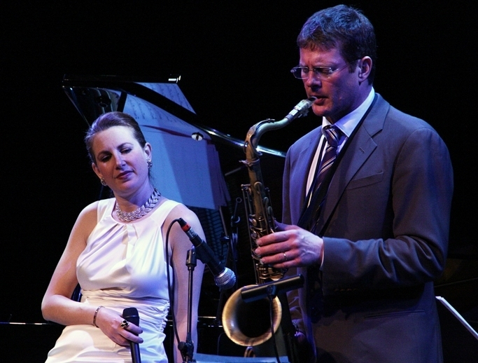Alexis Cole with Eric Alexander, Sarasota (Florida) Jazz Festival 2014