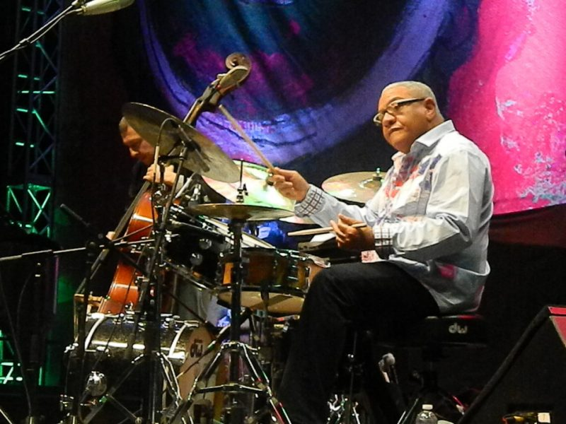Ignacio Berroa in performance at the 2014 Puerto Rico Heineken Jazz Festival