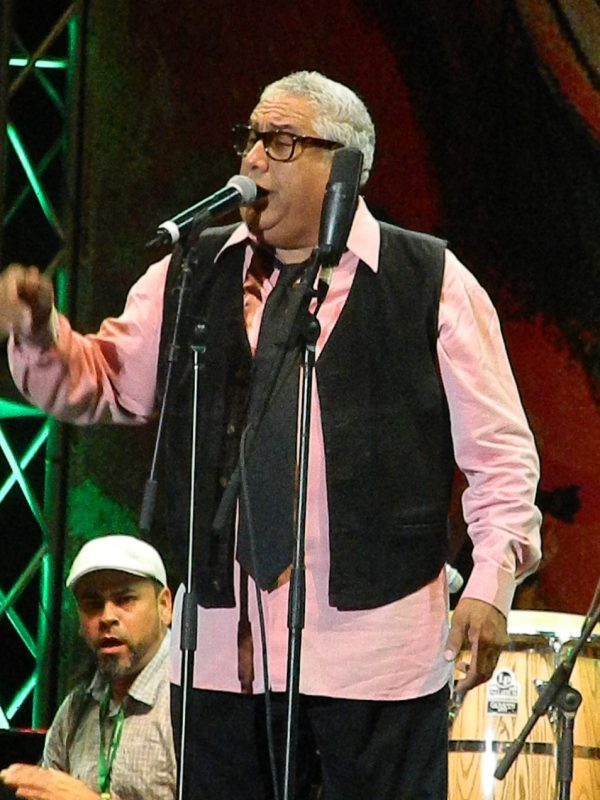 Jerry Medina in performance at the 2014 Puerto Rico Heineken Jazz Festival