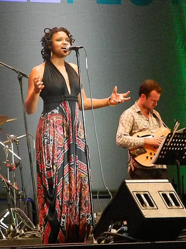 Lizz Wright in performance at the 2014 Puerto Rico Heineken Jazz Festival