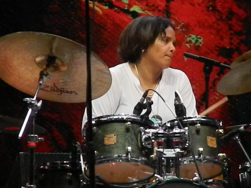 Terri Lyne Carrington in performance at the 2014 Puerto Rico Heineken Jazz Festival