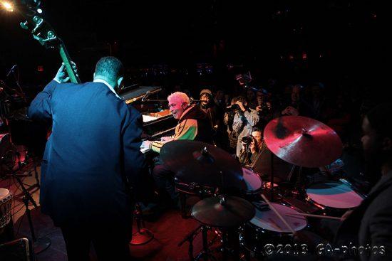 Monty Alexander Harlem-Kingston Express at Le Poisson Rouge, NYC Winter Jazzfest 2013 image 0