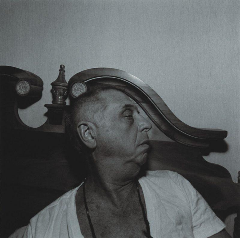 Lee Friedlander self portrait