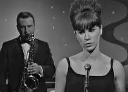 Astrud Gilberto backed by Stan Getz