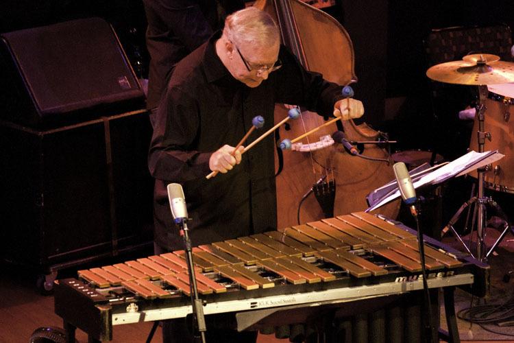 Gary Burton in performance at World Cafe Live in Philadelphia