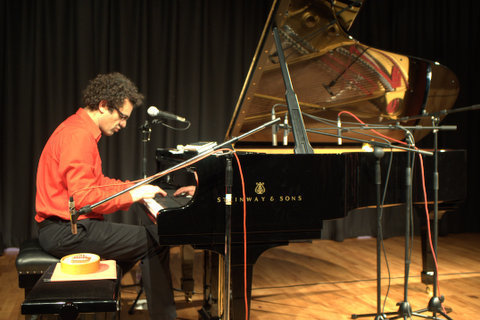 Performance by Arshid Azarine at It's All About the Piano event in London