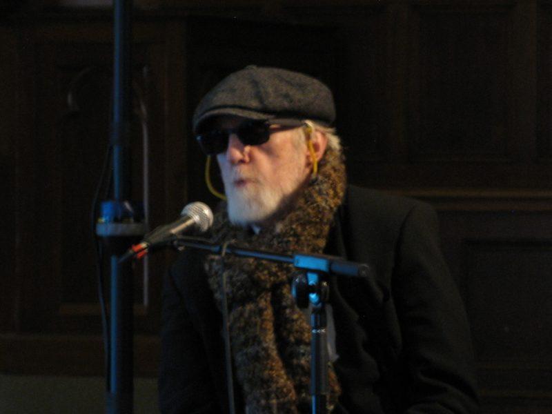 Ran Blake at Jaki Byard symposium at WPI, Worcester, Mass., 4-14