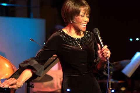Salena Jones in performance at the Pheasantry in Chelsea