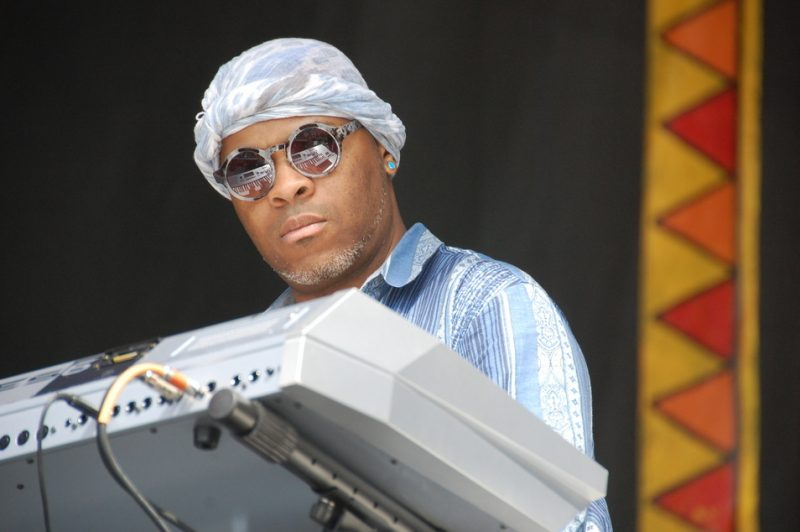 Davell Crawford at the 2014 New Orleans Jazz & Heritage Festival