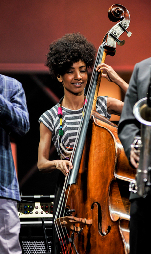 Esperanza Spalding, International Jazz Day, Osaka, Japan, April 30, 2014