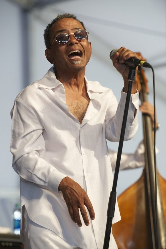 John Boutté onstage at the 2014 New Orleans Jazz & Heritage Festival