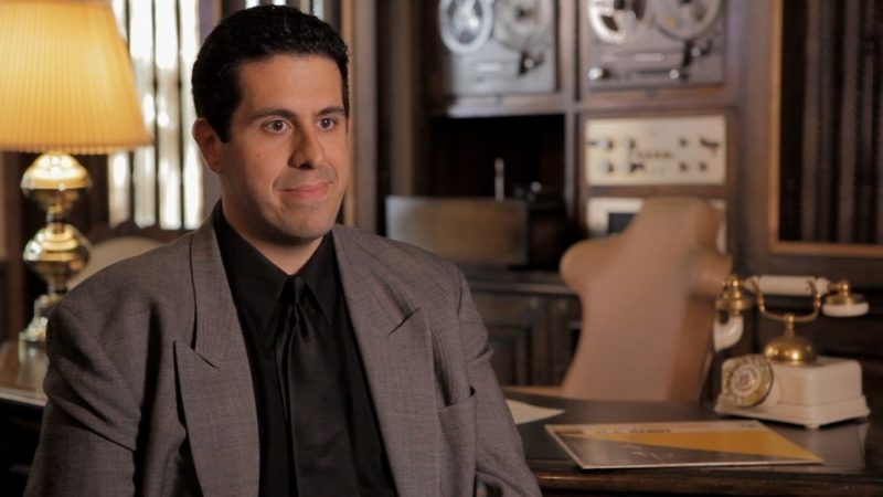 Ricky Riccardi at Louis Armstrong House Museum