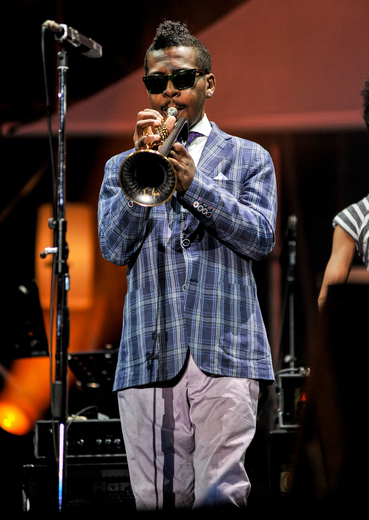 Roy Hargrove, International Jazz Day, Osaka, Japan, April 30, 2014