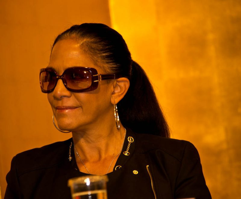 Sheila E., International Jazz Day press conference, Osaka, Japan, April 30, 2014