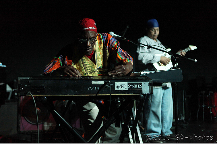 Bernie Worrell and guitarist André Lassalle at Undead Jazzfest 2010