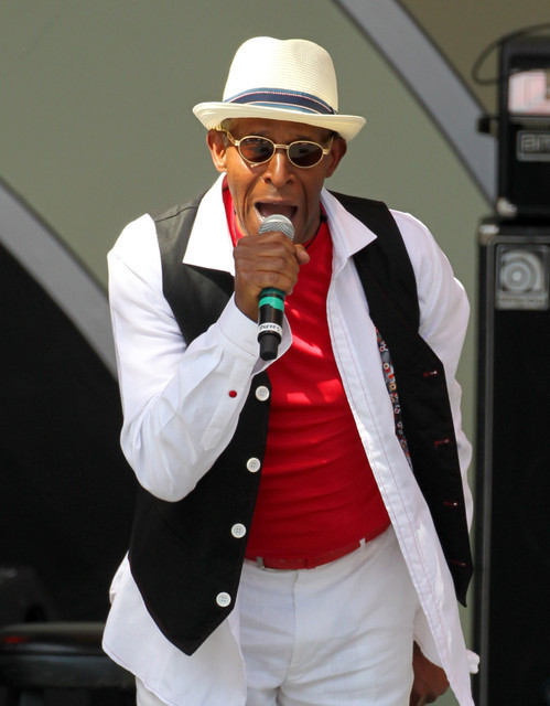 "Antonio ""Huggy Bear"" Fargas with the New Jump Blues--Playboy Jazz Festival 2014, Hollywood Bowl"