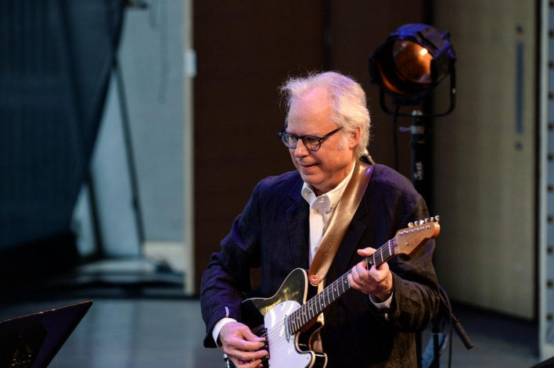 "Bill Frisell performs his ""Guitar in the Space Age"" program at Jazz at Lincoln Center; June 2014"