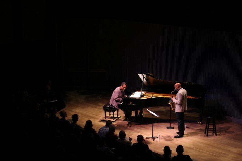 Miguel Zenón (right) and Danilo Pérez, SFJAZZ Center, San Francisco 5-14