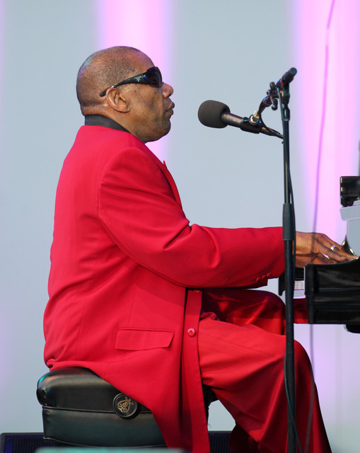 Henry Butler at the 2014 Playboy Jazz Festival