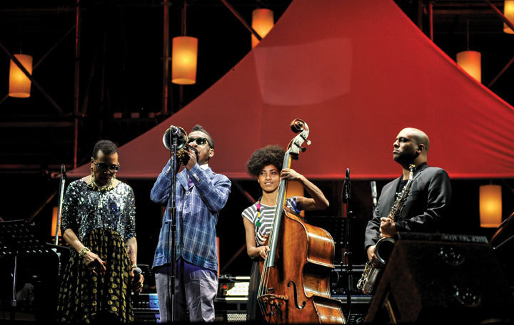 Dee Dee Bridgewater, Roy Hargrove, Esperanza Spalding, Troy Roberts, International Jazz Day, Osaka, Japan, April 30, 2014