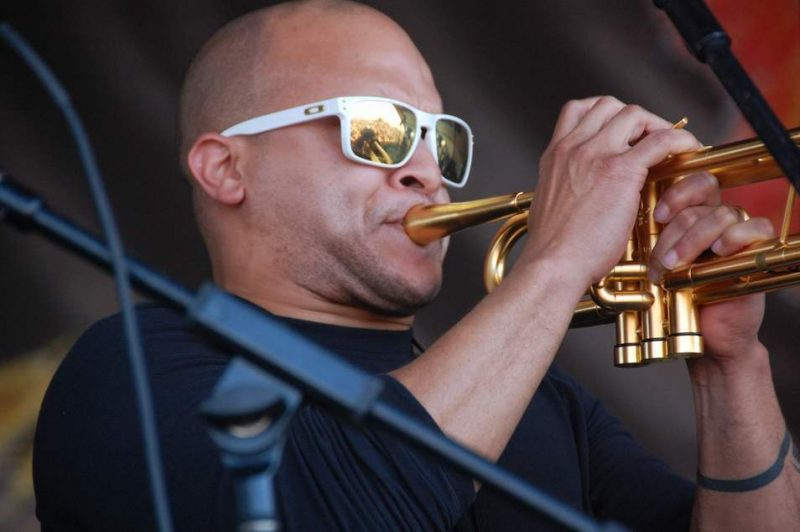Irvin Mayfield at New Orleans Jazz Fest 2013