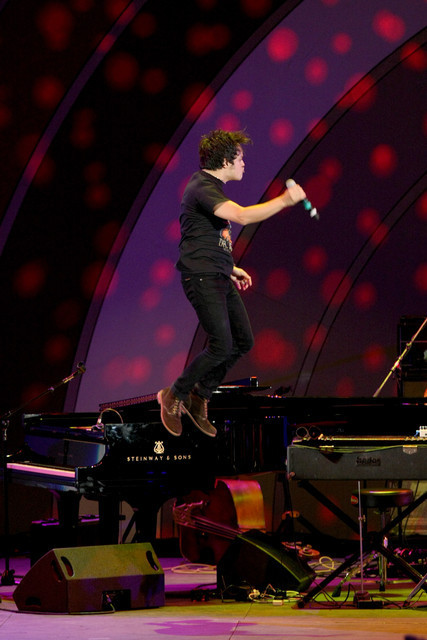 Jamie Cullum, Playboy Jazz Festival, Hollywood Bowl 2014