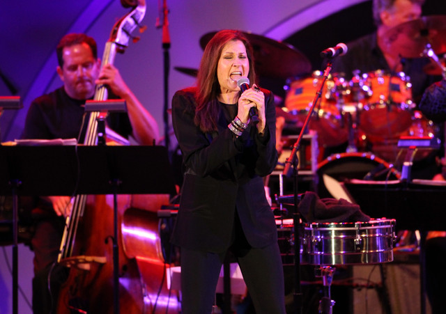 Monica Mancini and the Arturo Sandoval Big Band, Playboy Jazz Festival 2014