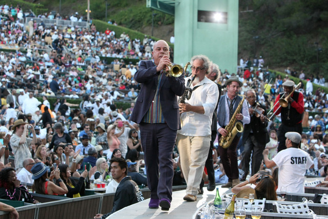 Steven Bernstein leading Butler, Bernstein & the Hot 9, Playboy Jazz Festival 2014