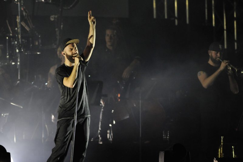 Woodkid at the 2014 Montreal Jazz Festival