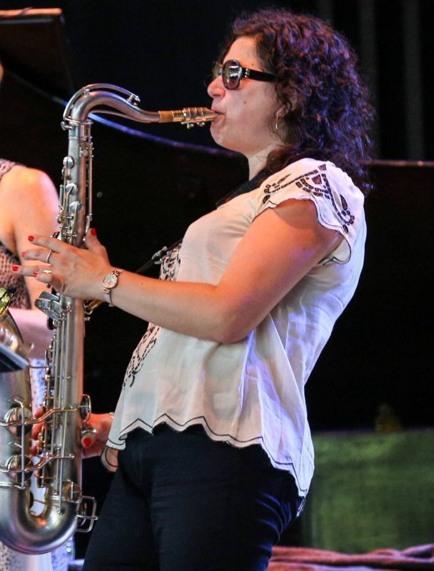 Anat Cohen, Freihofer's Saratoga Jazz Festival, 2014
