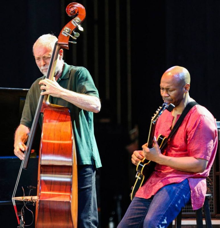 Dave Holland and Kevin Eubanks, Freihofer's Saratoga Jazz Festival, 2014