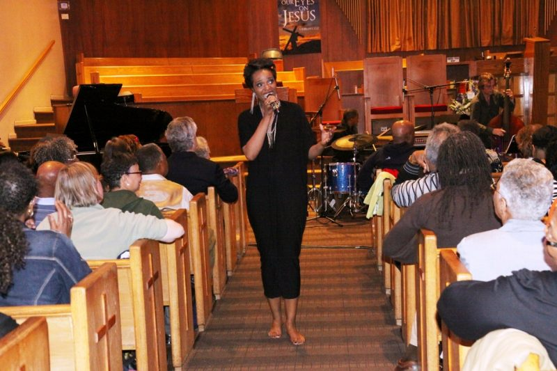 Kellylee Evans, Olivet Institutional Baptist Church, Tri-C JazzFest, Cleveland, 4-12
