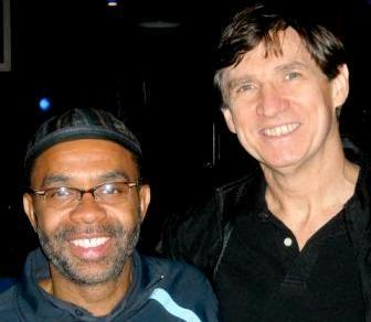 Kenny Garrett and Russ Davis at the Montreal Jazz Festival in 2014