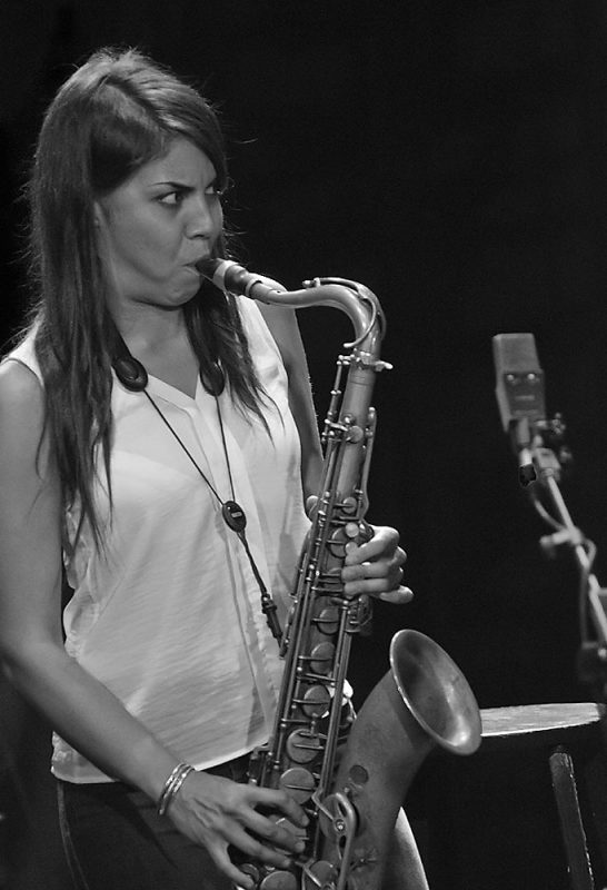Melissa Aldana, Ottawa Jazz Festival 2014